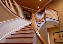 interior-painting-company-staicase-railing-weymouth-ma